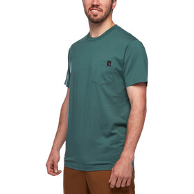 Black Diamond Crag Pocket T-Shirt Herren raging sea